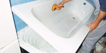 Акриловый вкладыш в ванну Киев